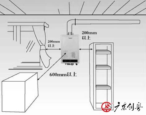 万和燃气热水器安装步骤及其费用是多少图片